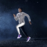 Campera Nike Shield Flash Max Jacket y Calzas Nike Flash Tight - Allyson Felix
