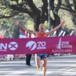 Media Maratón 21K Buenos Aires - Ganador Matías Roth