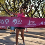 Media Maratón 21K Buenos aires - Ganadora Rosa Godoy