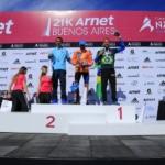 21k Arnet de Buenos Aires 2014 - Podio masculino
