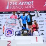 21k Arnet de Buenos Aires 2014 - Podio femanino