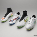 Botines Nike presentados en Diciembre Shine Through Collection