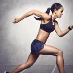 Nike Pro Fierce Bra es un modelo ultra liviano que ofrece soporte de nivel medio a alto - Katarina Johnson-Thompson
