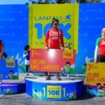 LANPASS 10K en Córdoba - Podio Femenino