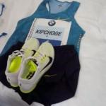 Maratón de Berlín 2015 - Zapatillas, short y remera de Eliud Kipchoge