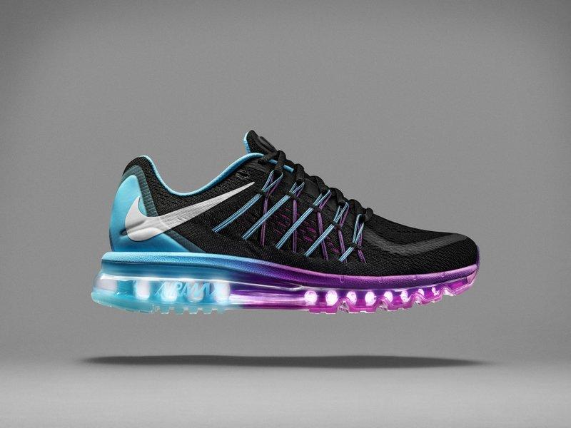 Zapatilla para correr Nike Air Max 2015 Flywire Mujer Running Correr