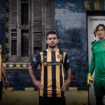 Presentación camiseta Rosario Central Nike en Lugar Fundacional - Damián Musto, Franco Niell y Mauricio Caranta