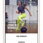 App Nike+ Training Club
