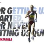 Nike honra a Paula Radcliffe, Maratón Londres 2015