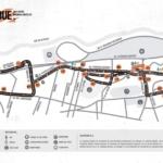 Mapa We Run Buenos Aires 21K Detalles del recorrido y corte de calles