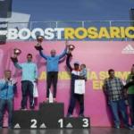 15º Media Maratón adidas Rosario 2015 - Podio Masculino