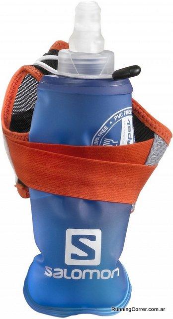 Botella de hidratación para correr de mano que se comprime Salomon