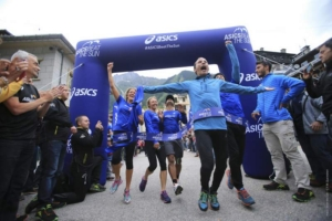 ASICS Beat the Sun 2015 - Arrivo