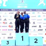 Maratón 42k Arnet Buenos Aires 2015 - Podio Femenino