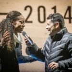 Nike We Run 21K 2014 - Sanya Richards Ross y Julián Weich