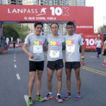 LANPASS 10K en Buenos Aires 2015 - Javier Carriqueo, Mariano Mastromarino y Gustavo Francia