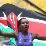 Mary Keitany ganadora de la Maratón de Nueva York 2015 Mujer