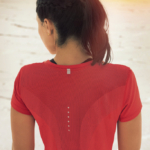 Top mangas cortas para running Nike Dri-FIT Contour - de mujer