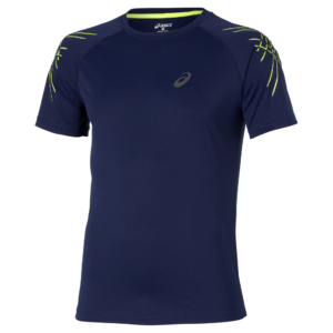 Remera Graphic Stripe Blue ASICS para hombre