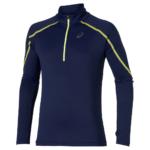 Camiseta con cierre para correr de hombre Lite-Show LS 1/2 zip ASICS