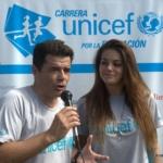 Carrera UNICEF 2014 bsas - Julián Weich y Natalie Pérez CONDUCTORES