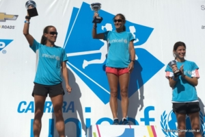 Carrera UNICEF 2014 bsas - Podio Damas