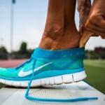 La zapatilla para correr Nike Free Flyknit proporciona compresión con flexibilidad