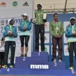 Media Maratón de Bogotá 2013 - podio femenino