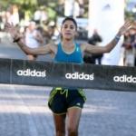 Media Maratón adidas Rosario 2013 Rosa Godoy, ganadora de los 21k Damas