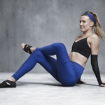 Malla o calza de entrenamiento Nike Zoned Sculpt para mujeres - Eugenie Bouchard