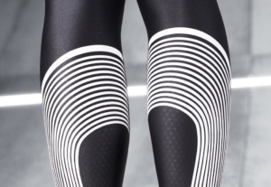 Malla o calza para running Nike Power Speed Tight para hombre - Detalle pierna
