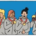 2012: Cuatro años más tarde, la chaqueta está de nuevo en el podio de las medallas en Inglaterra, pero esta vez se consigue un tratamiento técnico progresivo diferente: la tecnología Nike flash, que reflejan cuando las cámaras la enfocan.