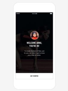 Nike+ App - Login - Iniciar Sesión