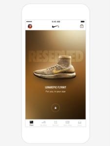 Nike+ App - Feed - Lanzamientos