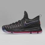 Zapatillas para baloncesto Nike Air Zoom KD9 - Negra - Lateral - Hombre