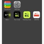 Nike+ App - En iPhone