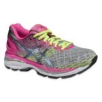 Zapatillas running ASICS GEL-Nimbus 18 para Mujer - Rosa y Plateado