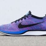 Zapatillas de running Nike Flyknit Racer color «Índigo»