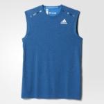 Musculosa para correr hombre adidas Climachill 2016