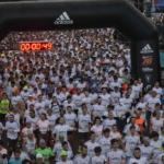 Media maratón 21K Rosario Mayo 2016 largada