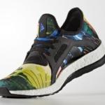 Zapatillas para correr PureBoost X color Core Black Blue adidas running