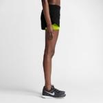 Short Nike Running 2 en 1 con malla para Mujer color negro volt