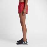 Short Nike Running Aeroswift 5 cm para mujer color rojo carmesí