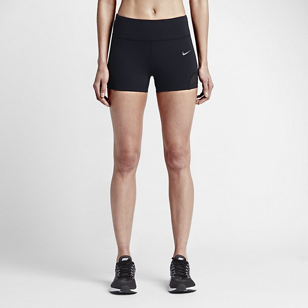 Short Negro Power Color Elastizado Mujer Epic Nike Lux Running Para SgS6qznrx