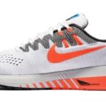 Zapatillas para correr nike Air Zoom Structure 20 Aniversario color Blanco y Naranja