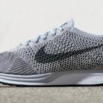 Zapatillas de running Nike Flyknit Racer color Blanco