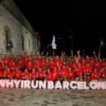adidas runners Barcelona celebra su primer gran evento con el fuego como protagonista