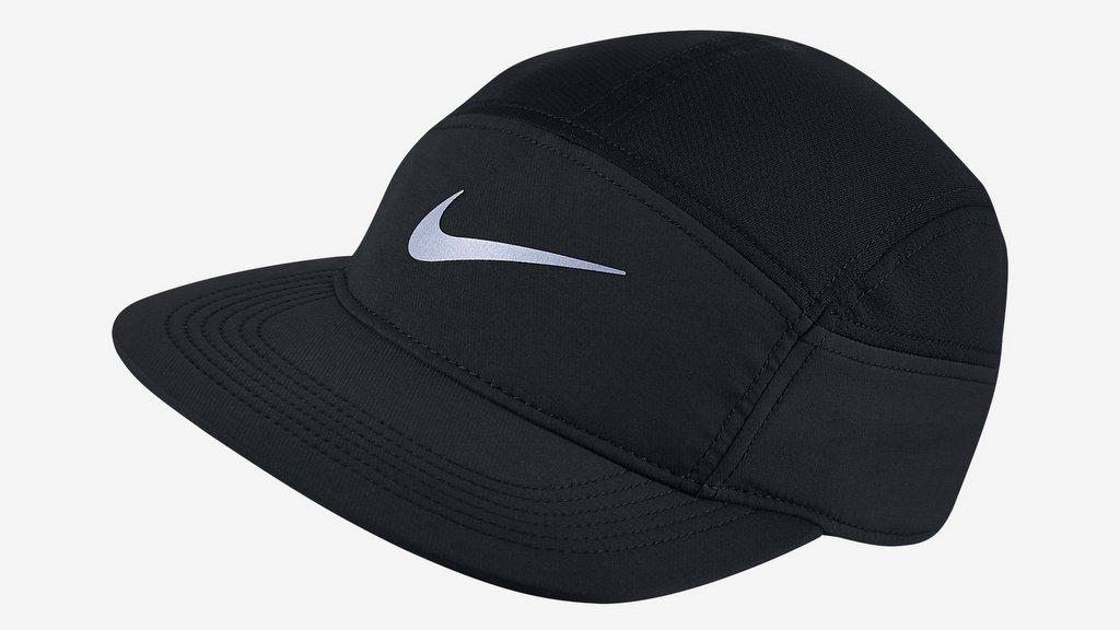 Gorra para correr Nike AW84 con bolsillo con cierre  47078fec24b