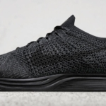 "Zapatillas para correr Nike Flyknit Racer de color triple negro ""Midnight"""