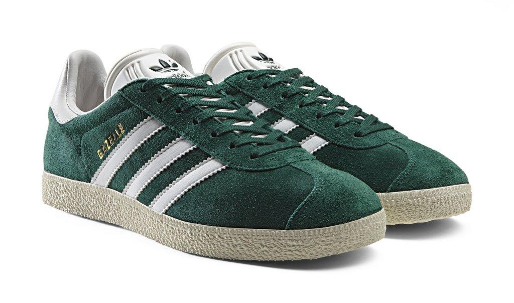 zapatillas adidas gazelle verdes